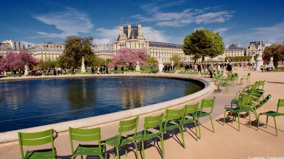 Tuileries in spring
